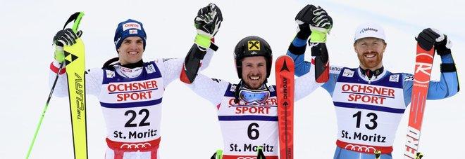 Mondiali di St. Moritz, doppietta austriaca nel gigante Primo degli azzurri è Tonetti giunto decimo