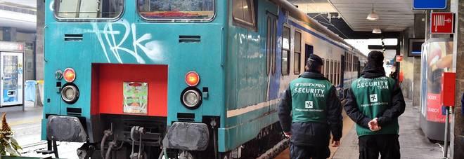 Spacca la testa a una ragazza in treno per rapinarla: rumeno in manette
