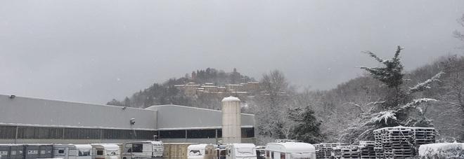 Due metri di neve a Montefortino E' difficile anche fare i funerali