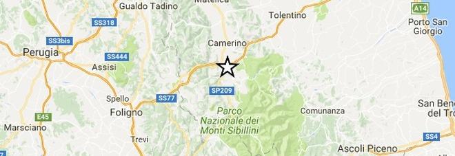 Scossa di magnitudo 3.5 Ancora paura a Camerino e in tutta la provincia