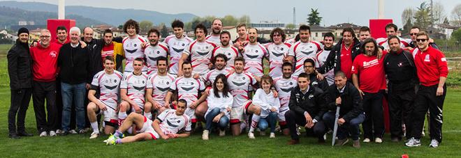 La formazione dei Rangers Vicenza