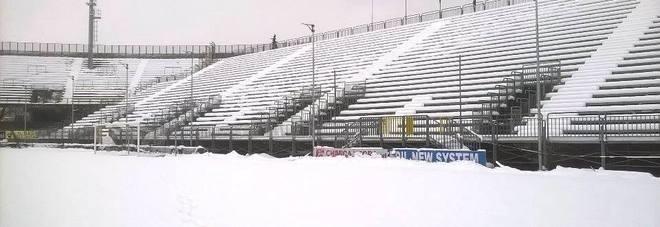 Lo stadio Del Duca