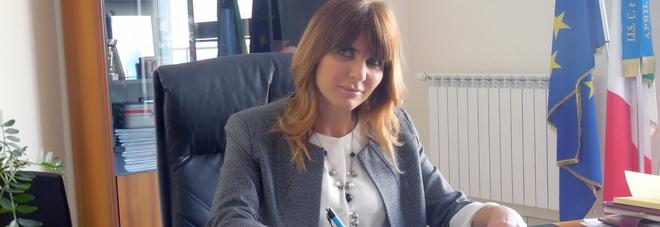 Viviana Bombonati dirigente scolastico dell'istituto Rosselli di Aprilia