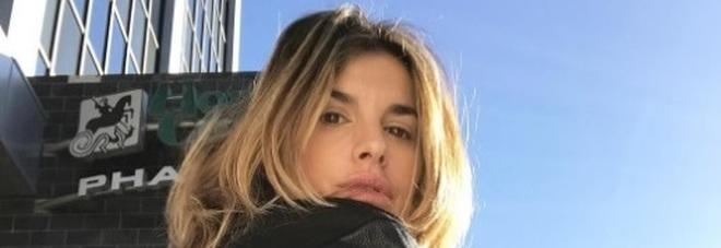 """Elisabetta Canalis a passeggio per Hollywood: """"Finalmente il sole"""""""