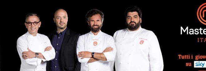 Bruno Barbieri, Joe Bastianich, Carlo Cracco, Antonino Cannavacciuolo