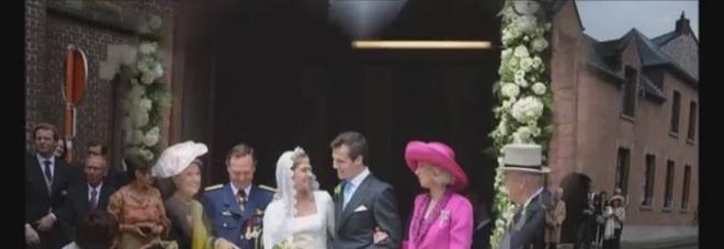 Belgio, le nozze regali fra la principessa Alix de Ligne e il conte Guillaume de Dampierre