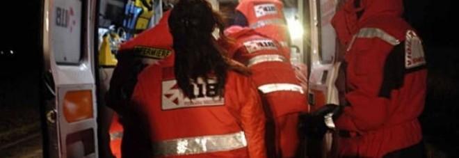 Una ambulanza per i soccorsi