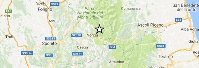 Nuove scosse nella notte nell'Italia centrale fino a 3.1 Epicentro nelle Marche