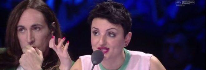 Arisa-Agnelli, scintille e lacrime a XFactor: alla fine lui abbandona lo studio