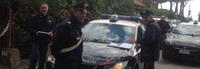 I carabinieri sul posto della tragedia