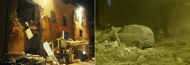 TERREMOTO NEL CENTRO ITALIA Magnitudo 5.9, epicentro nella Valnerina crolli e feriti, gli sfollati sono centinaia
