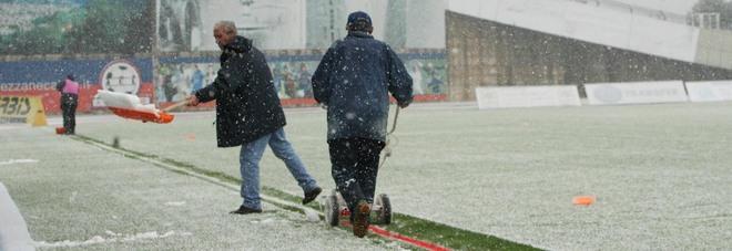 immagine Rischio neve: Coordinamento di emergenza della Figc Puglia