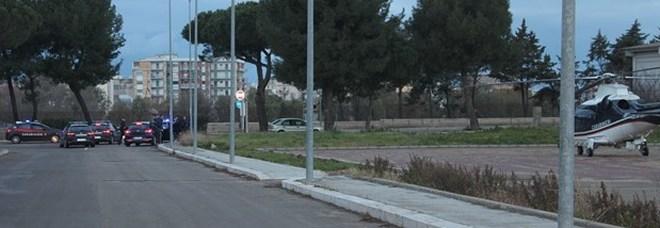 I controlli eseguiti dai carabinieri al quartiere Perrino