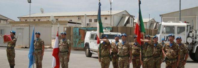 Le bandiere di guerra dei reparti