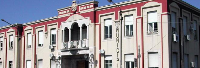 La sede del Comune di Barcellona Pozzo di Gotto in Sicilia