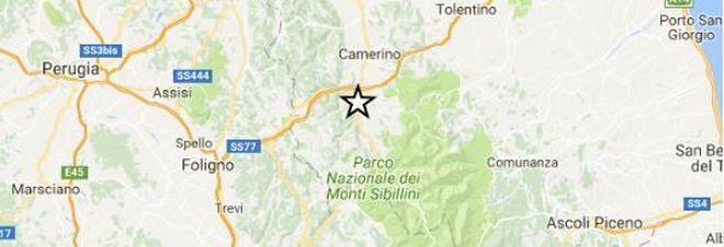 Scossa magnitudo 3.0 nel Maceratese alle 9.20 epicentro a Pieve Torina