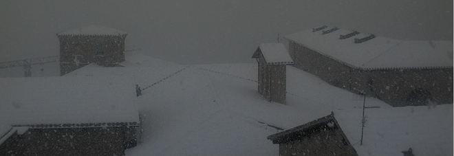 Urbino sotto la neve