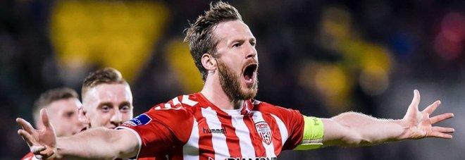 Ryan McBride trovato morto in casa, il giocatore del Derry City aveva 27 anni
