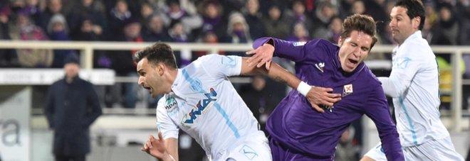 Fiorentina ai quarti: decide un rigore di Bernardeschi al 93'