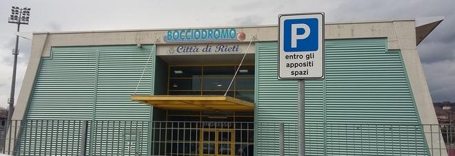 Il bocciodromo di Rieti