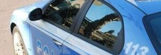 I controlli della polizia di Frosinone