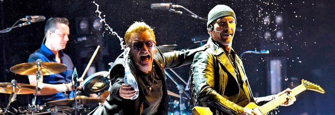 Gli U2 a Roma: il 15 e 16 luglio due concerti allo stadio Olimpico