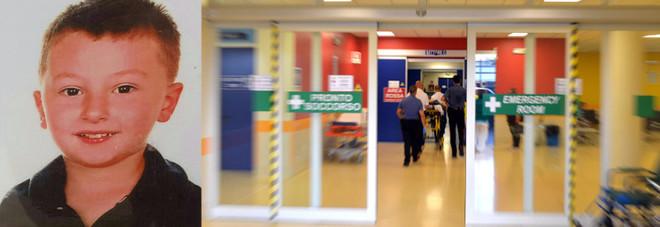 Andrea Mion e il pronto soccorso dell'ospedale di Treviso