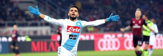 Quando vede il Milan si esalta Insigne decisivo tra gol e spettacolo