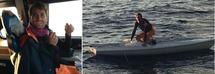 Fiumicino, velista ritrovato vivo dopo 20 ore disperso in mare /Foto