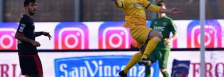 Il Frosinone aggancia il Verona in testa, vola la Spal. Pari del Pisa nell'anticipo