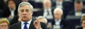 Tajani, tra i fondatori di Forza Italia ed ex commissario Ue