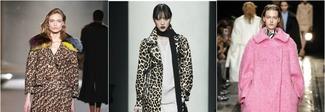 Oversize, con balze o animalier: tutti i cappotti tendenza dell'inverno
