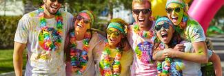 """Benetton, la prima linea sport per la maratona """"The Color Run"""""""