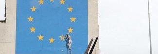 L'ultimo murale di Bansky potrebbe essere presto venduto a caro prezzo