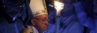 Maltempo, il Papa: «Auto e dormitori per i clochard»