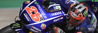 MotoGP, Vinales vince in Qatar spuntandola su un Dovizioso strepitoso. Valentino terzo