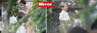 Baby George in lacrime al matrimonio di Pippa dopo il rimprovero di mamma Kate