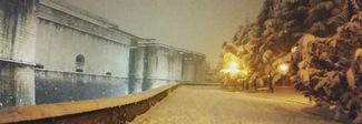 L'Aquila: neve senza sosta, in alcune zone già 70 centimetri