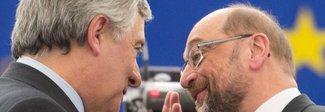Tajani, passaggio di consegne con Schulz e la telefonata di Mattarella