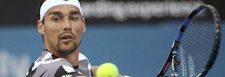 Australian Open, esordio complicato per Fognini e Vinci
