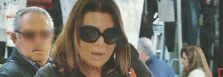 Serena Grandi e le nozze col nobile: «Per il matrimonio ho già perso 15 chili»
