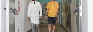 Orsolini, le visite mediche a Torino