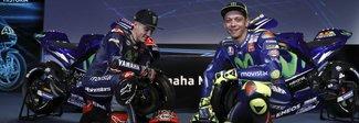 Valentino Rossi svela la sua Yamaha: «La nuova moto mi piace. L'importante è essere competitivi»