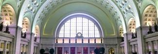 Video porno sullo schermo della stazione dei treni di Washington