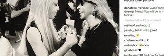 Dalla Versace alla Ventura, l'addio sui social alla signora della moda Franca Sozzani