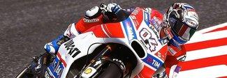 Gp di Catalogna, vince Dovizioso poi le Honda. Valentino è ottavo