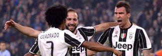 Juventus-Sampdoria 4-1: tutto facile contro i blucerchiati