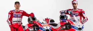 Ducati, ecco la nuova DesmosediciGP17: Lorenzo e Dovizioso in sella puntano al titolo