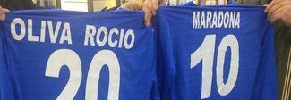 Pronta le maglie per Diego e Rocio: Palmieri la vuole nel Napoli in rosa