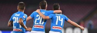 Napoli-Empoli 2-0: gli azzurri spuntati si riprendono il terzo posto
